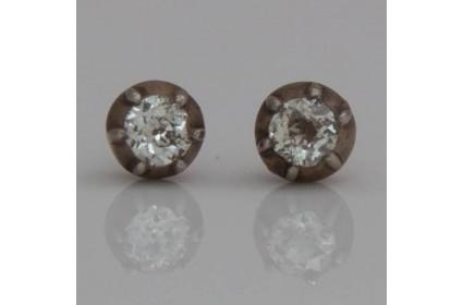 Victorian Diamond Studs
