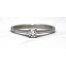 Diamond Solitaire set in Platinum