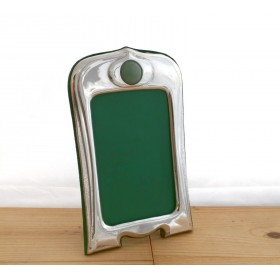 Art Deco Style Pewter Photo Frame