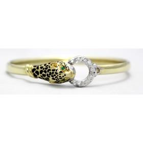 Leopard Bangle