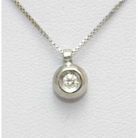 Single Diamond Pendant