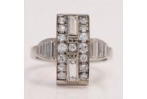 Diamond Up-the-Finger Ring