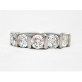 Diamond Five Stone Ring