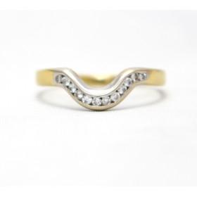 Shaped Diamond Ring