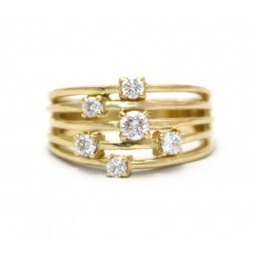 Diamond Rain Ring