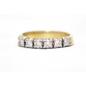 Diamond Six Stone Ring
