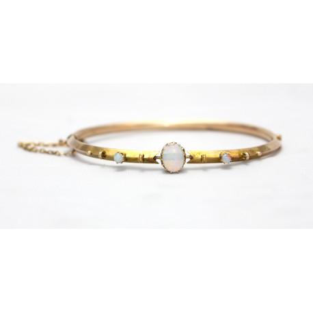 Opal Set Bangle
