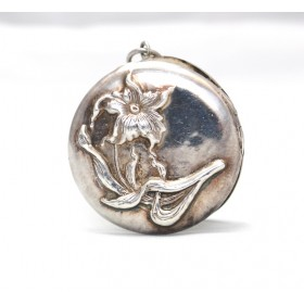 Decorated Silver Locket
