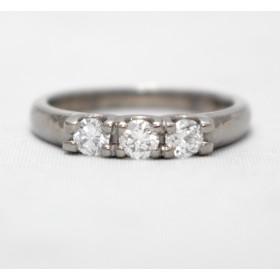 Diamond Three Stone Ring