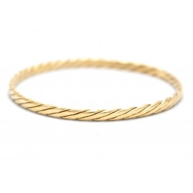 18ct Gold Bangle