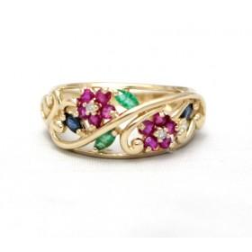 Multi- stone ring