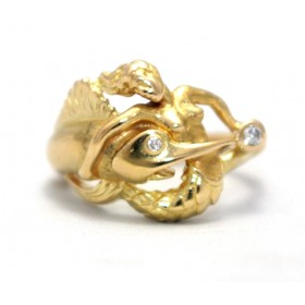Mermaid Gold Ring