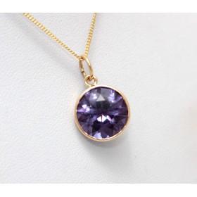 Colour Change Sapphire Pendant