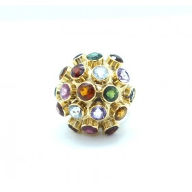 Sputnik shape Multi-stone Ring