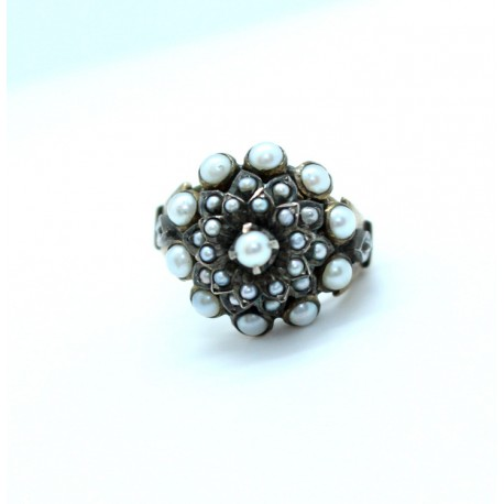 Pearl Ring 14ct Gold