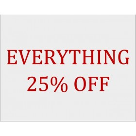 25% Sale Click here for more details