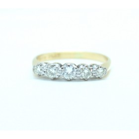 Five stone Diamodn Ring