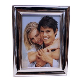 Photo Frame Silver Plated Steel 10 x 15cm