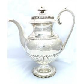 Antique 19th Century Victorian Solid Silver Coffee Pot 745 Grams