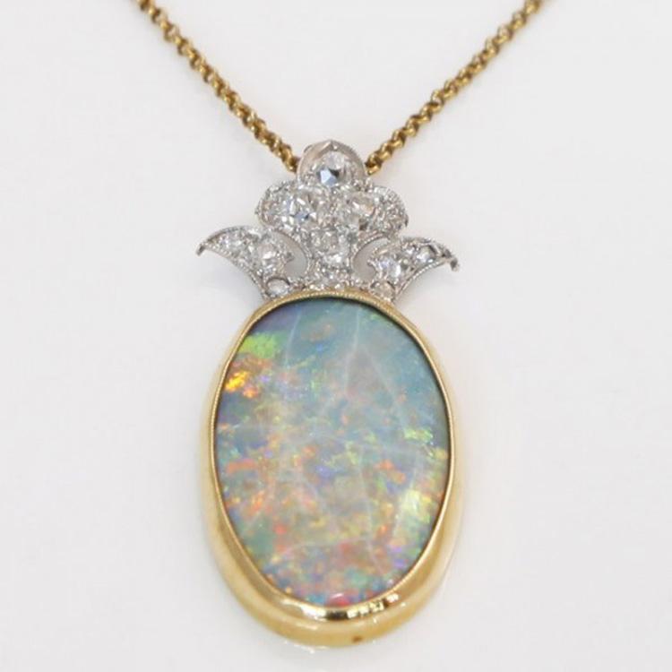 October birthstone part 1 opal httpshkjewelleryengagement rings opal aloadofball Choice Image